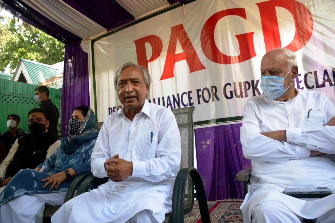 PAGD seeks restoration of Article 370, 35-A & Full Statehood