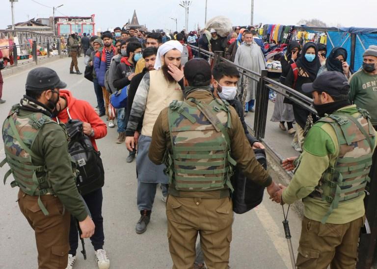 Frisking, CASO, Crackdown returned to Srinagar City, Pheran wearing population on hit-list