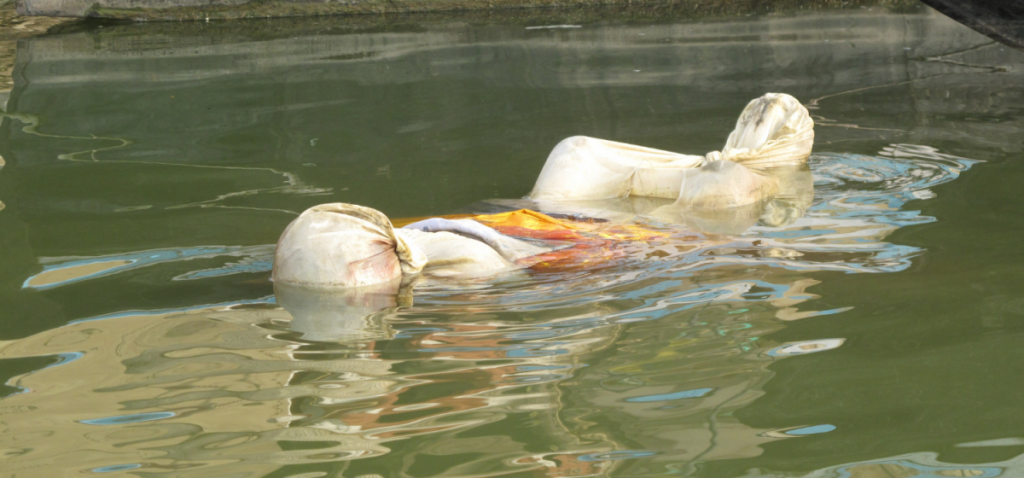 Bodies float down Ganges as more than 4000 died of COVID in India