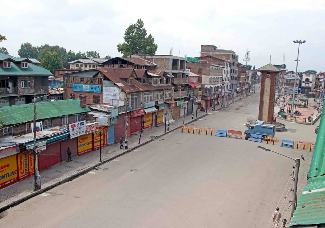 Abrogation of Article 370 & Coronavirus lockdown cost Kashmir Rs 45000 Cr business losses