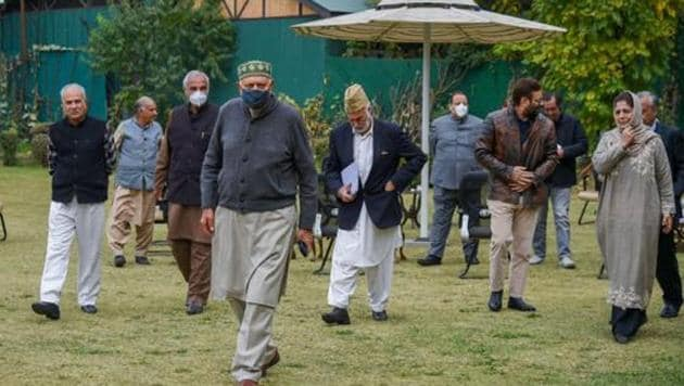 As GoI extends olive branch differences start to emerge among J&K politicos