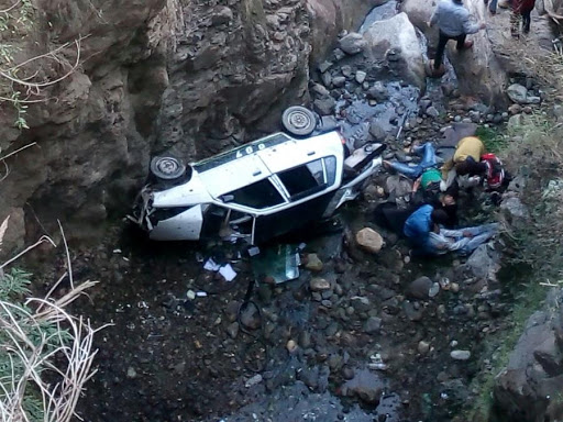Four killed as vehicle plunges into gorge in Ramban