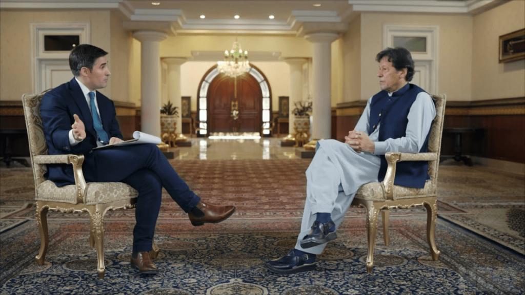 Imran Khan again seeks US intervention on Kashmir Issue