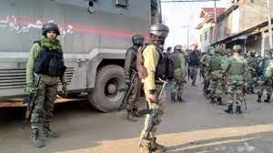 Militants strike in Sopore killing 2 Security Personnel & 2 Civilians