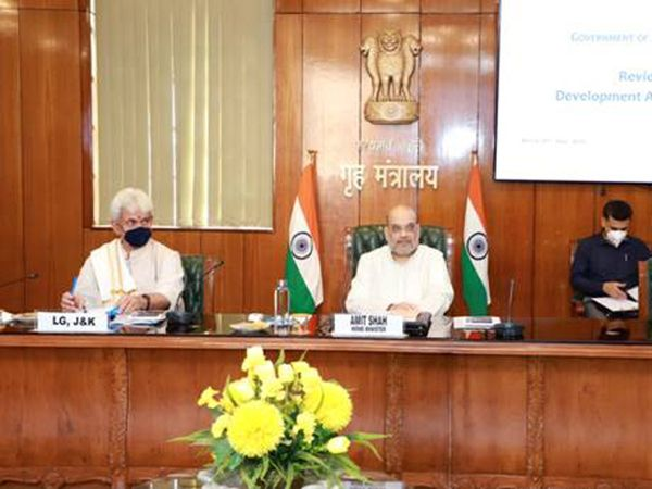 Shah chairs meeting on J&K situation; NSA, RAW, IB, CRPF & J&K DGP main attendants