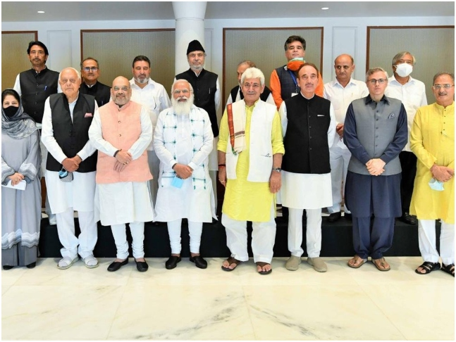 What's behind Modi's surprise talks with Kashmiri leaders - Pakistan, China, and the US, to name a few