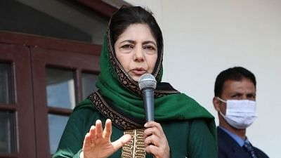 The only motive behind the Article 370 move seems to loot J&K: Mehbooba Mufti
