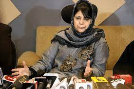 'Only unity can take people out from Suppression, Repression and Oppression', somebody's ideology can't be changed on gunpoint: Mehbooba Mufti