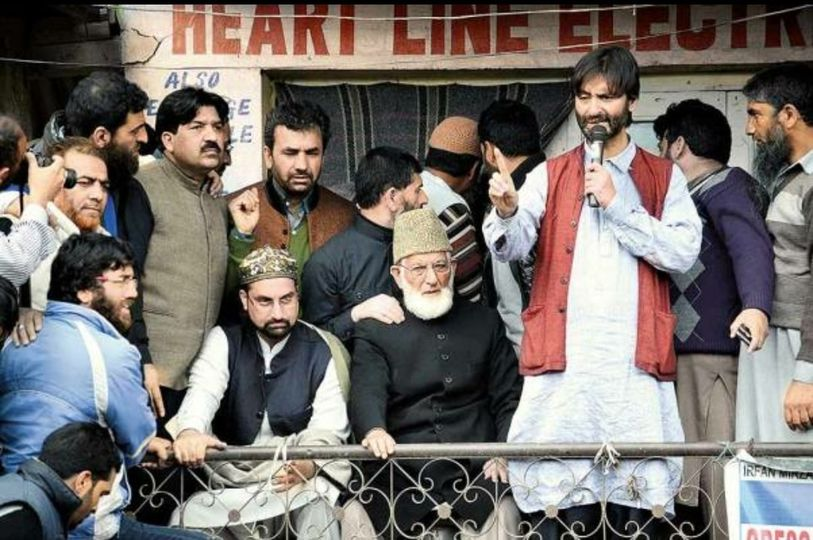 Hurriyat Conference likely to be banned under UAPA, TeH removes sign board from its office in Hyderpora
