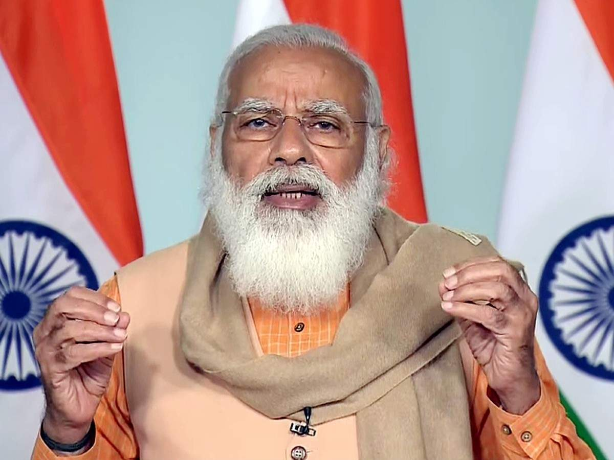 Veiling reference to Pakistan & China, India facing two challenges - Narendra Modi