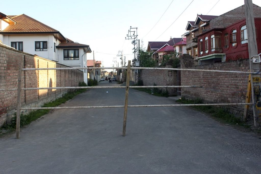 COVID Showing Steady Rise in Kashmir; Five more Srinagar areas declared containment zones
