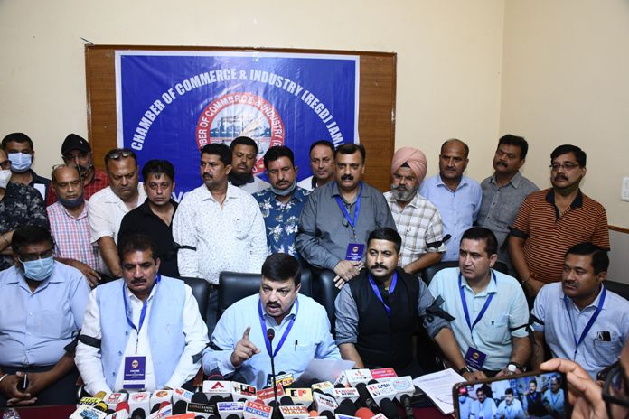 Jammu's Business Body calls for shutdown against Central Policies